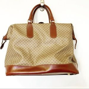 AMAZING VINTAGE GUCCI CARRY-ON TOTE!